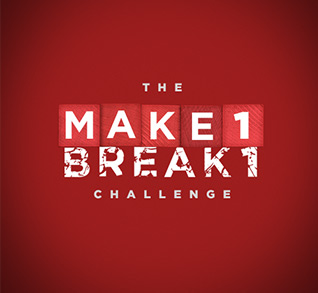 Make 1 Break 1 logo